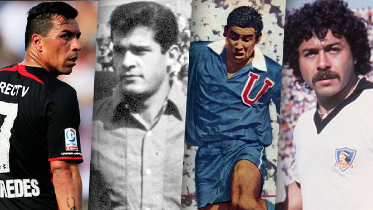 La historia de todos los goleadores de la Primera División chilena