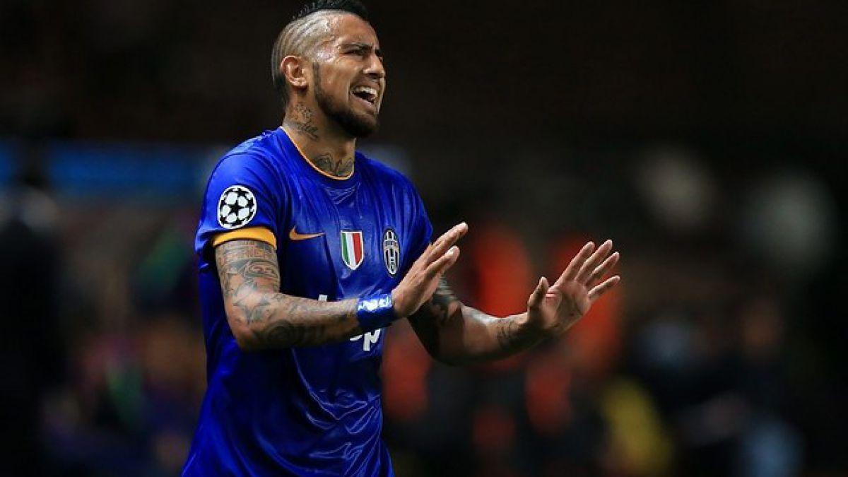 Vidal asoma como titular en las semifinales de Champions