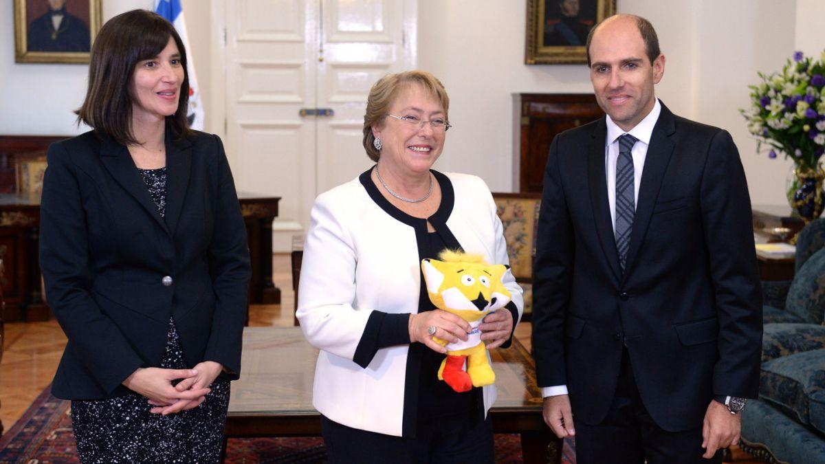 Presidenta Michelle Bachelet recibe invitación para la Copa América