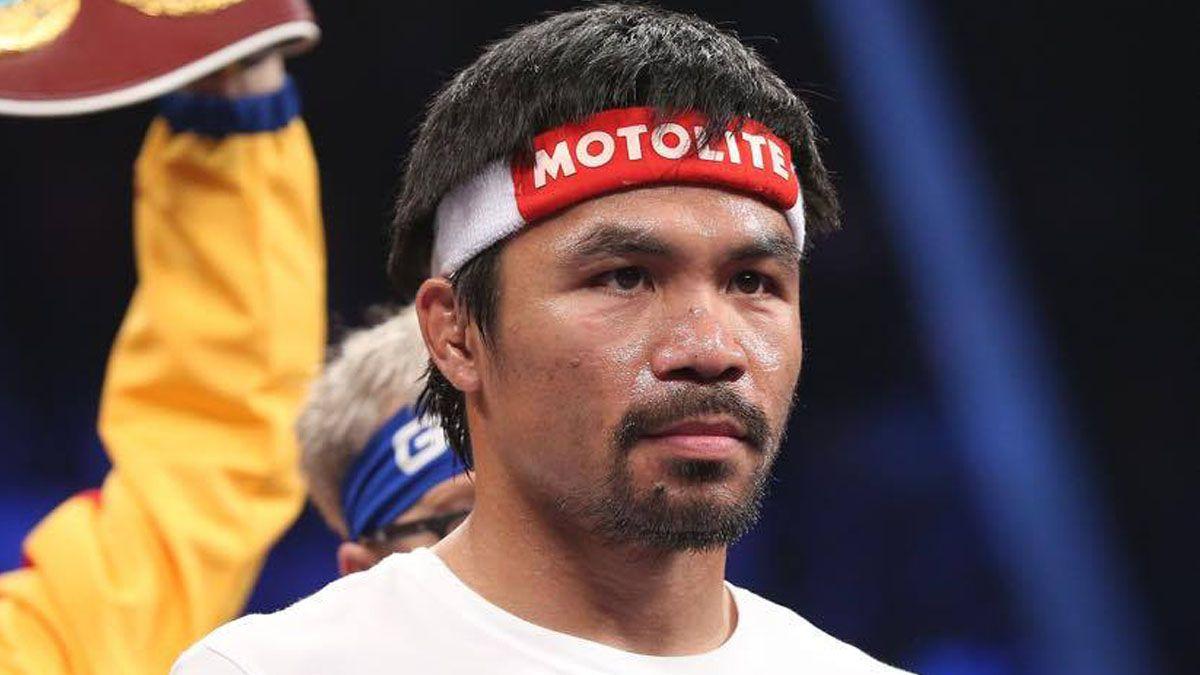 Pacquiao arriesga sanción por pelear lesionado