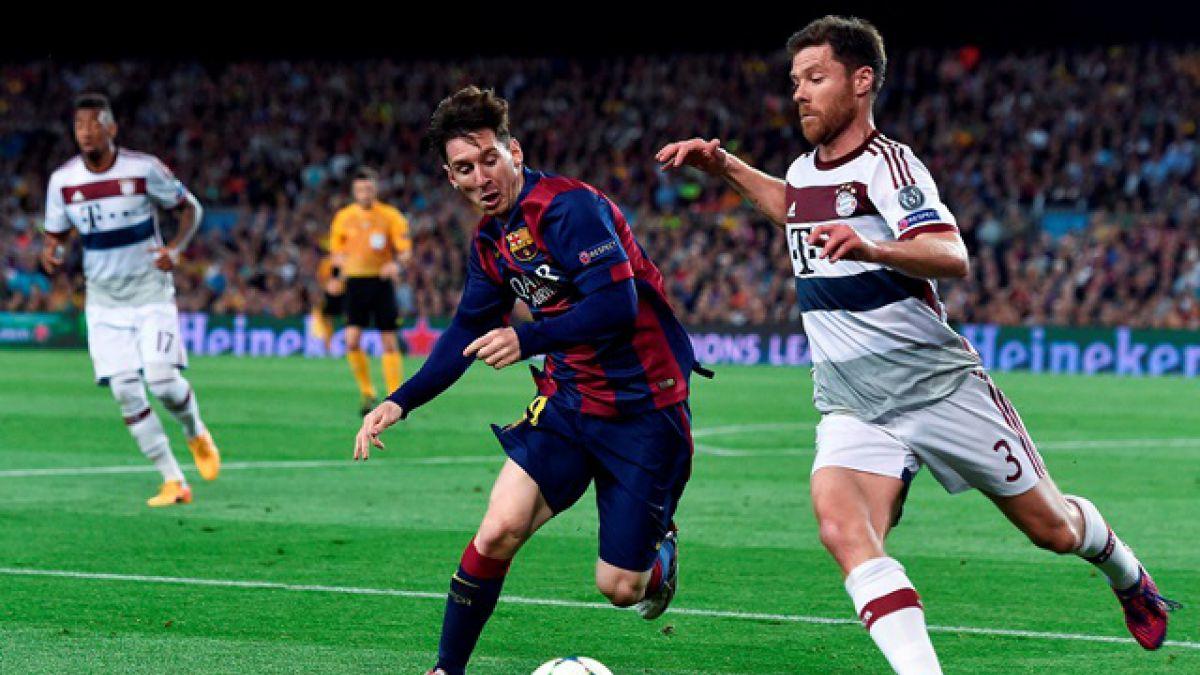 Barcelona dio el primer golpe ante el Bayern en la Champions