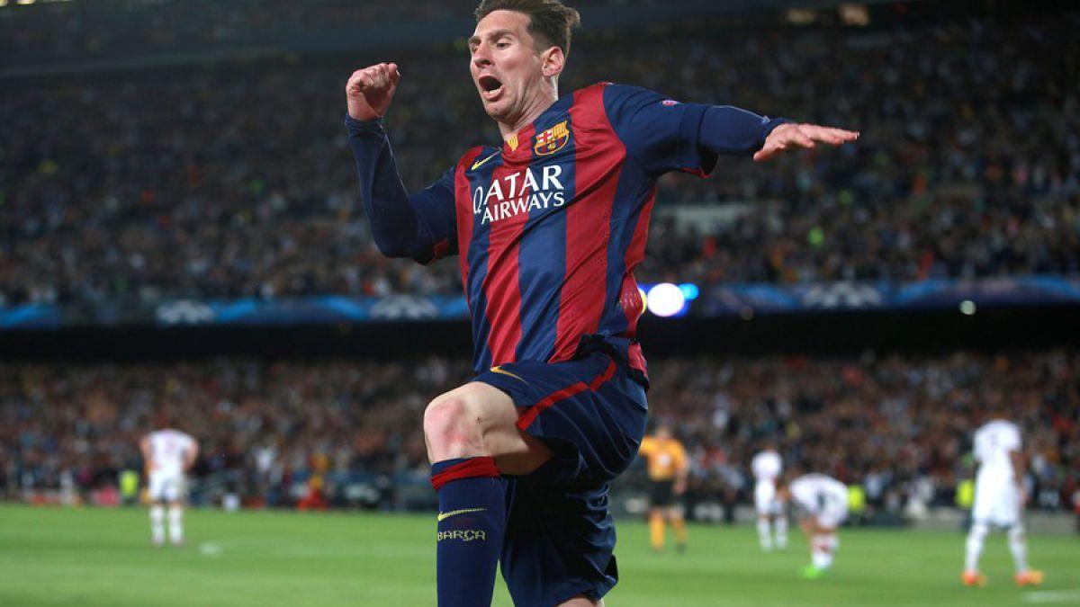 Los impresionantes números de Messi tras su partido número 100 en competiciones europeas