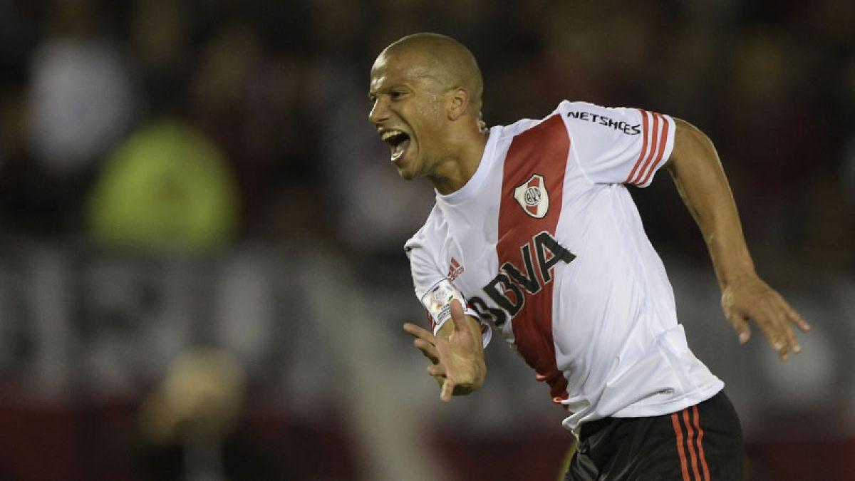 River con gol de penal vence a Boca en la ida de octavos de Libertadores