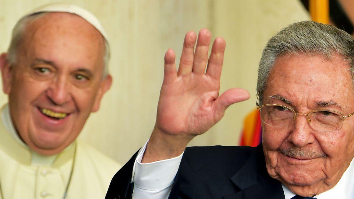 Papa Francisco, Raúl Castro