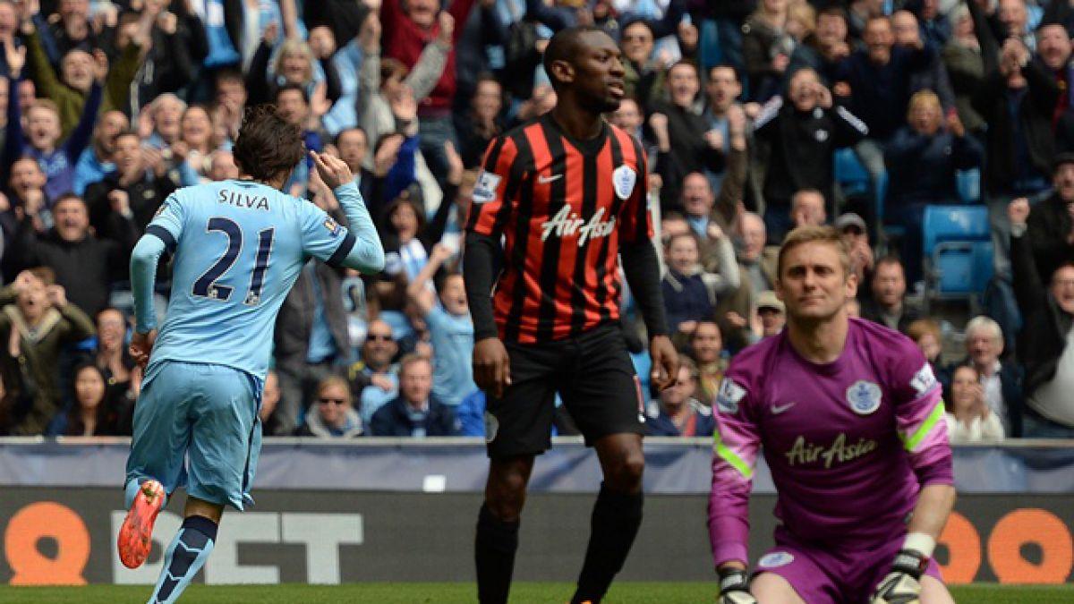 El Manchester City sentenció al QPR