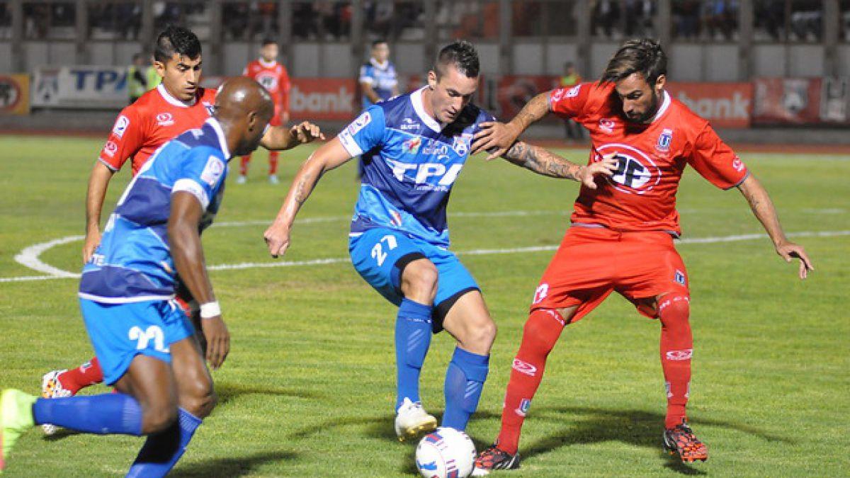 Unión La Calera y San Marcos empatan a un gol