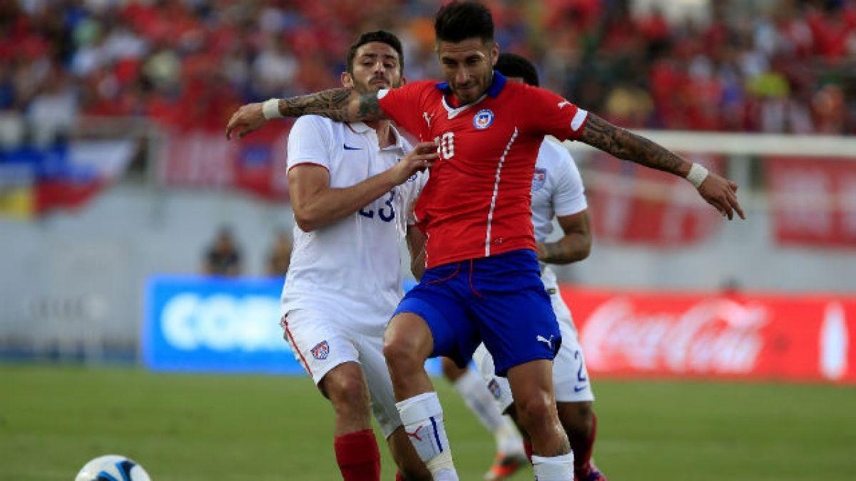 Marco Medel: Es un sueño tener siquiera la posibilidad de disputar la Copa América