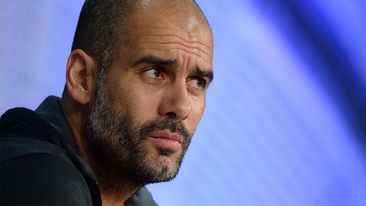 La respuesta de Pep Guardiola ante el supuesto interés del Manchester City