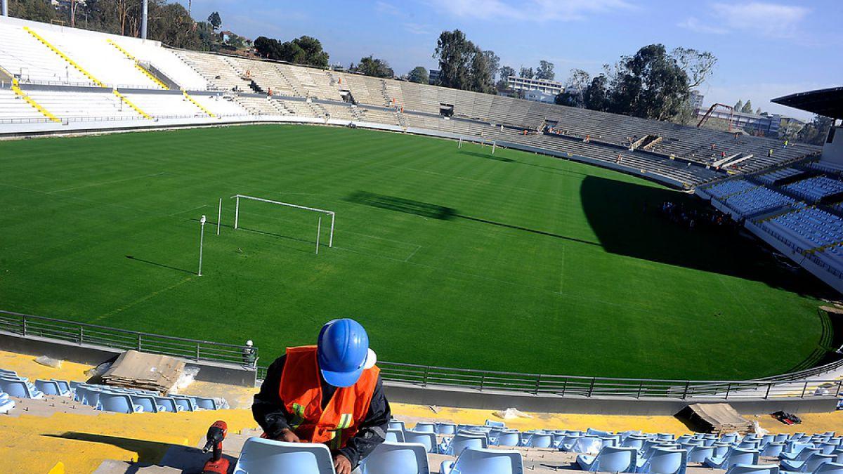 Sausalito está con nuevas butacas para Copa América se inaugurará con especial partido