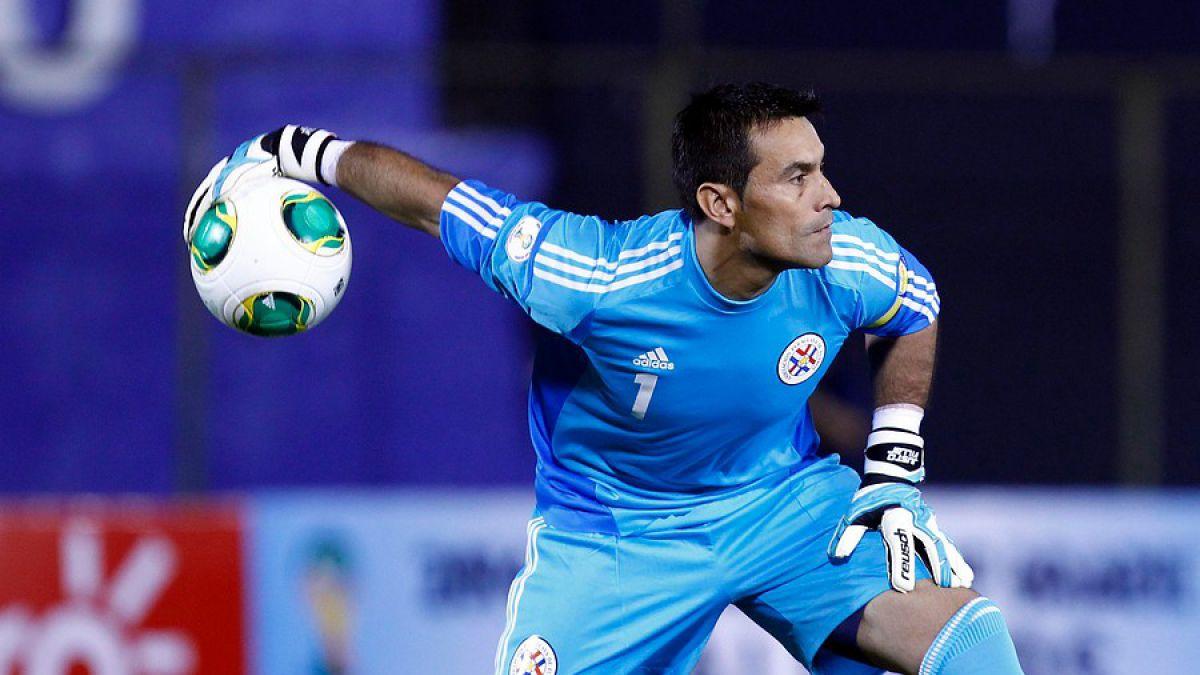 Justo Villar destaca en la pre nómina de Paraguay para la Copa América