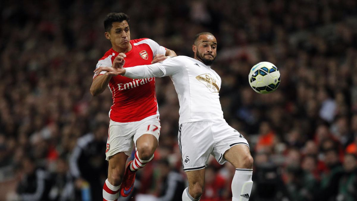 Arsenal FC no pudo frente a Swansea City en casa
