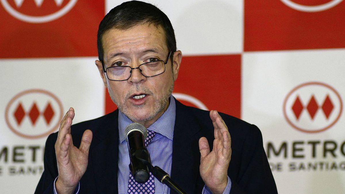 Rodrigo Azócar es reelecto como presidente de Metro de Santiago