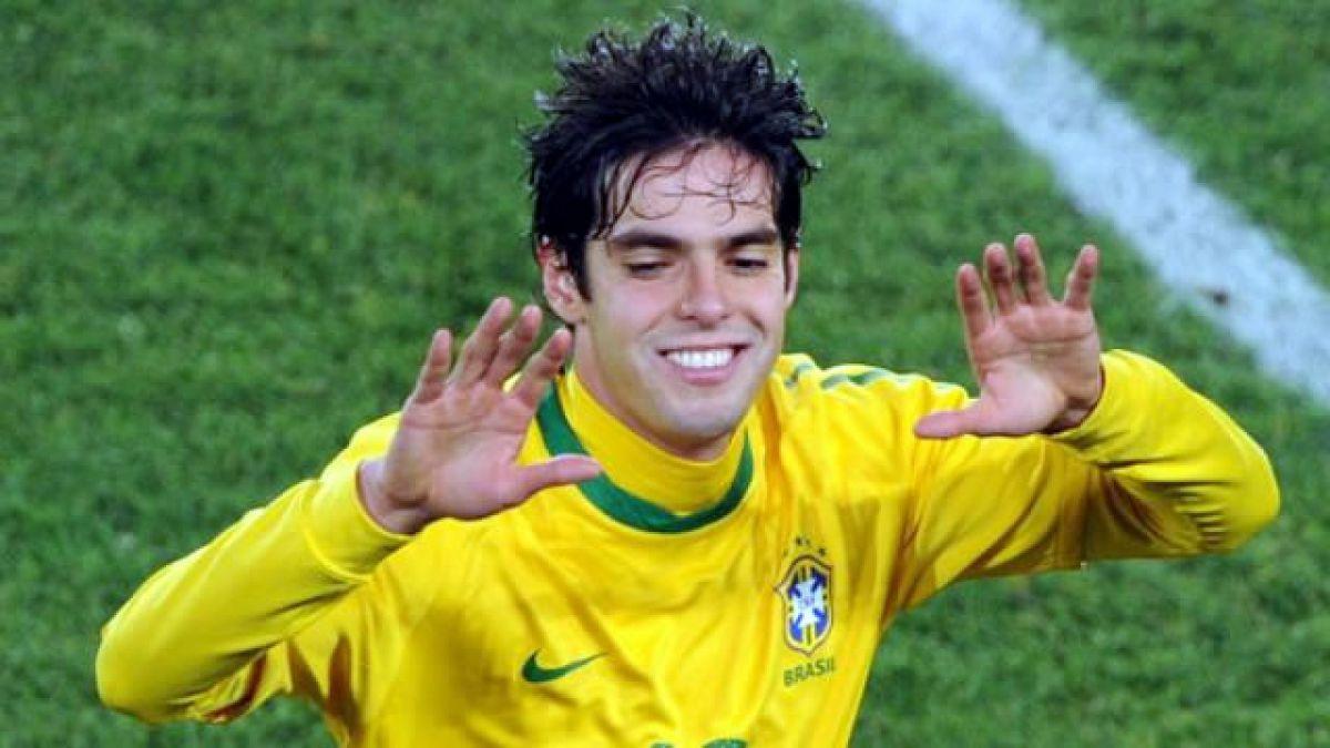 """Kaká encabeza """"nómina de reserva"""" de Brasil para Copa América"""