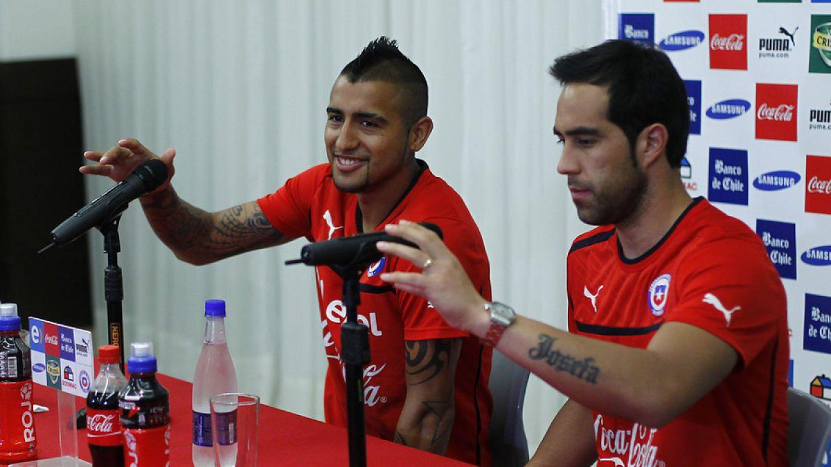 Bravo, Vidal y Sánchez se unirán a la Roja a sólo días del estreno en la Copa América