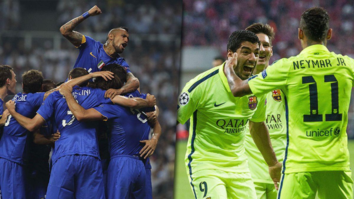 Choque de millonarios: Los poderosos planteles de Juventus y Barcelona, frente a frente