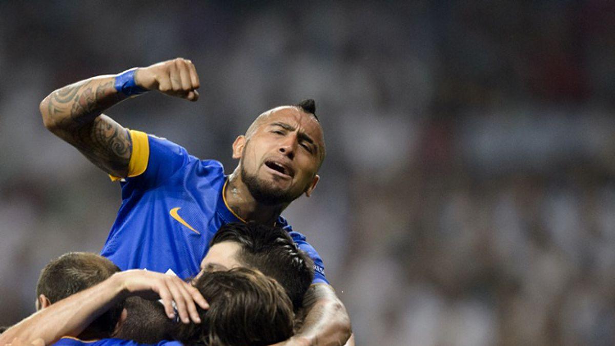 El día después de Arturo Vidal tras clasificar a la final de la Champions League