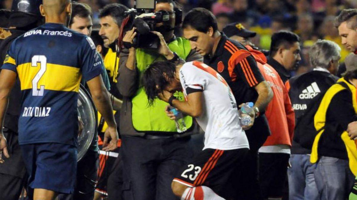 Hincha de Boca que agredió con gas a jugadores de River pide disculpas ante jueza