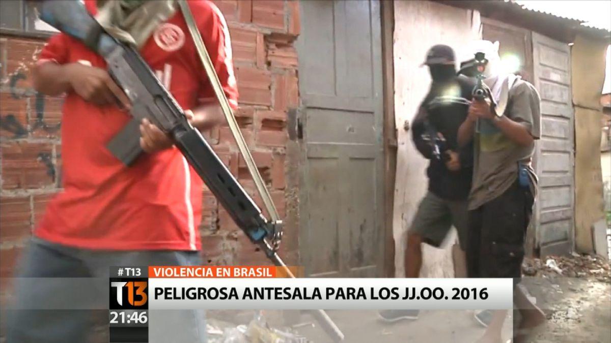 Violencia en Brasil: Peligrosa antesala para los Juegos Olímpicos 2016