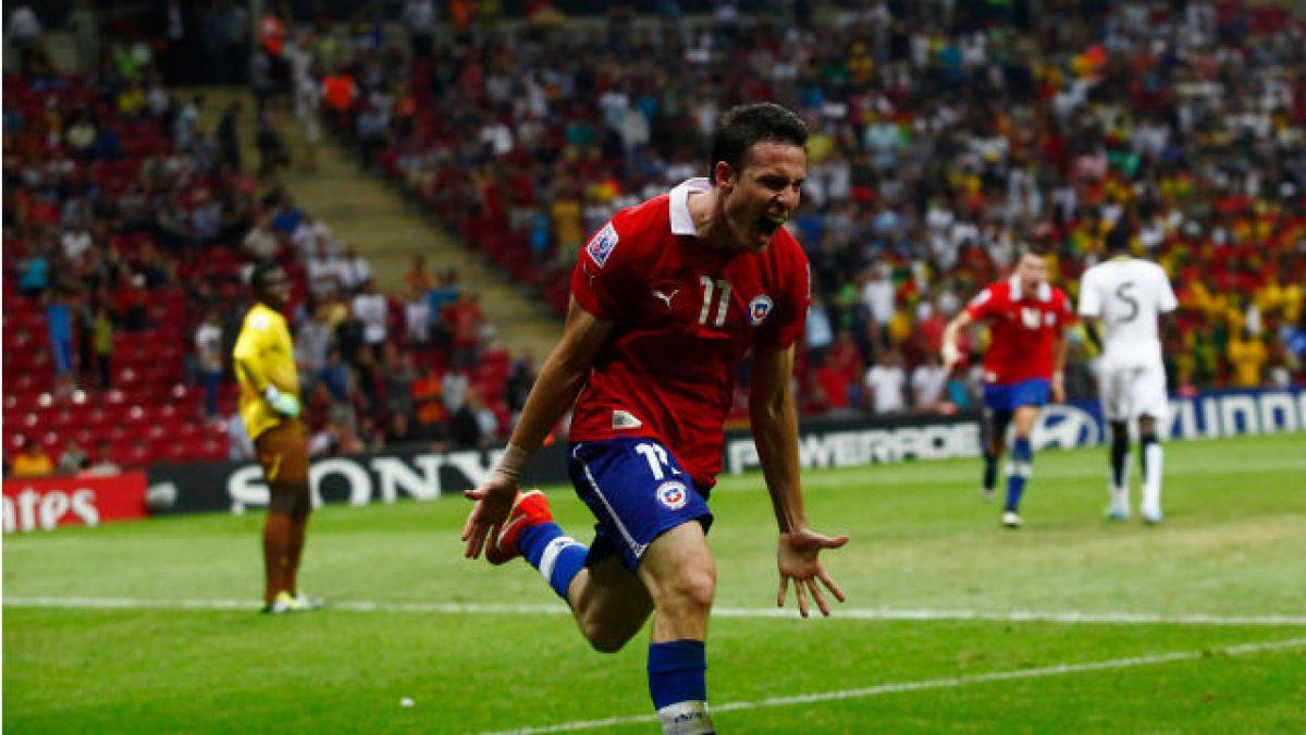 Ángelo Henríquez pide camiseta en la Roja tras anotar tripleta en Croacia