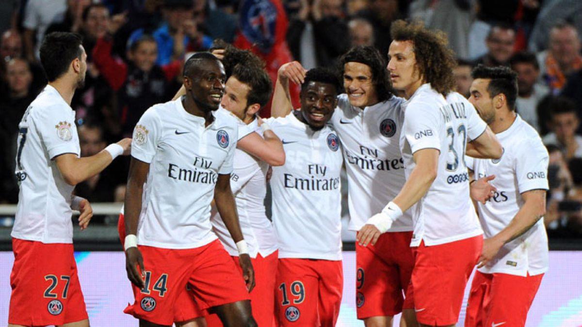 PSG campeón en Francia con cinco sudamericanos que estarán en Copa América