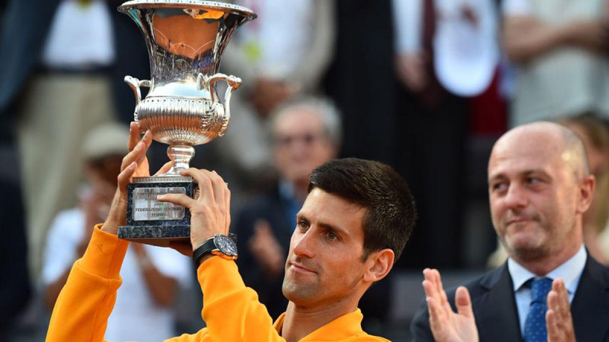 Djokovic vence a Federer y se lleva el Masters 1000 de Roma