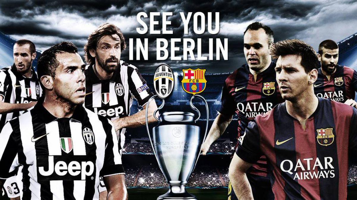 Amigos y rivales: Juventus de Vidal felicita en catalán a Barcelona de Bravo