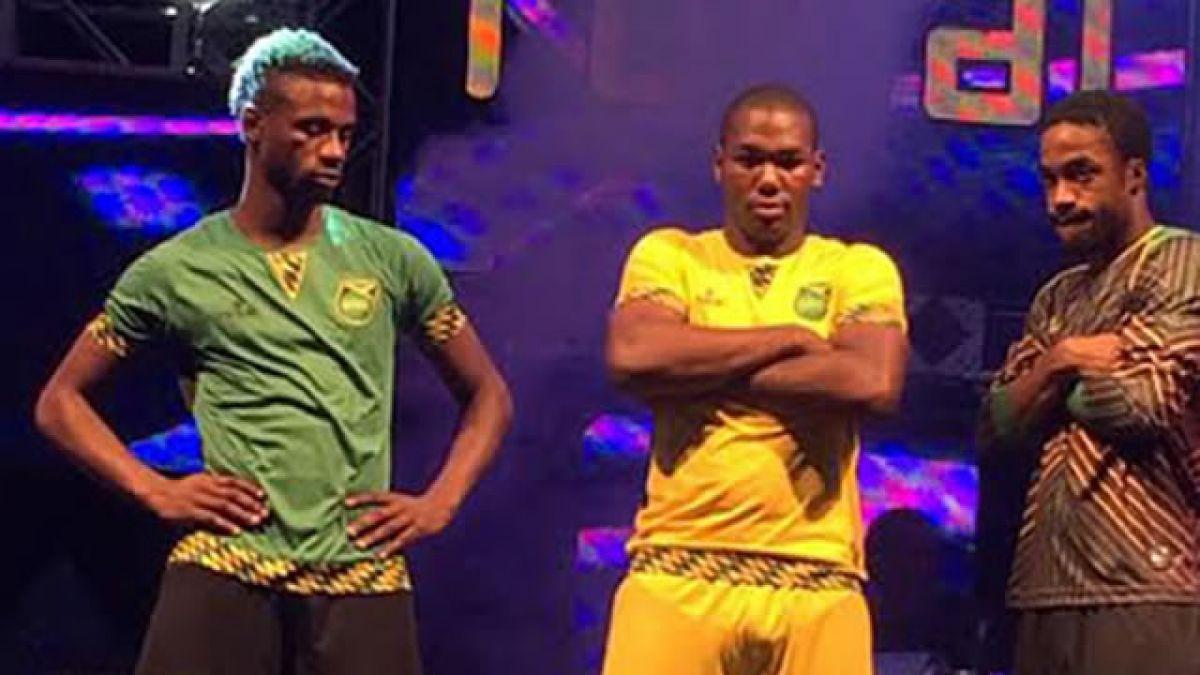 Millonario contrato en la nueva camiseta que lucirá Jamaica en Copa América