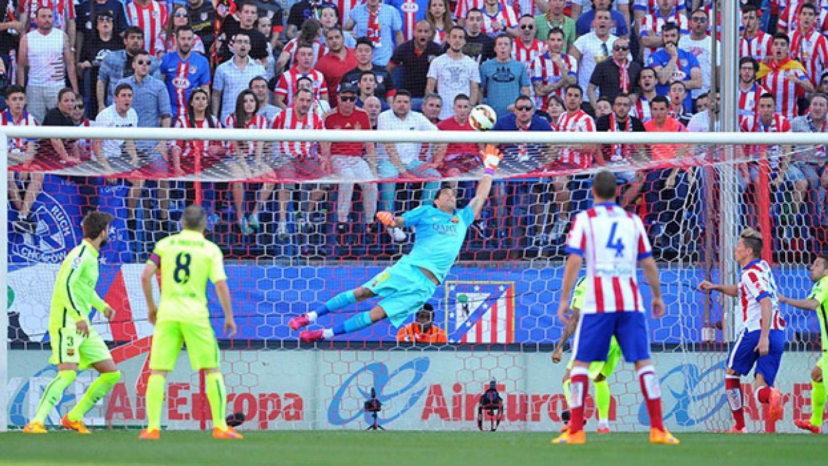 Todos los números de Claudio Bravo en La Liga 2014-15