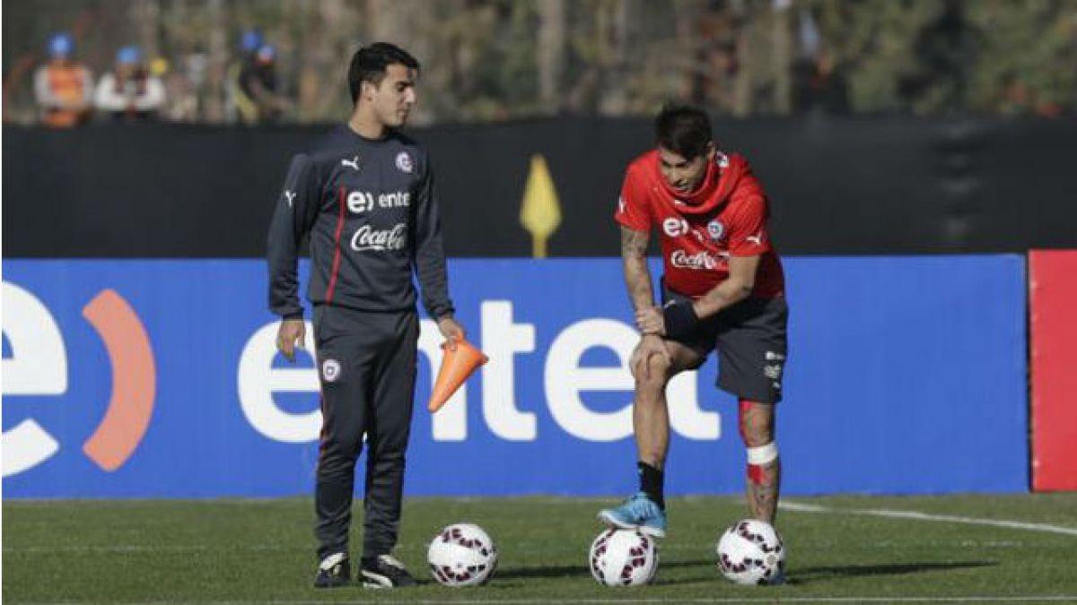 Sampaoli contento con evolución de Vargas y se ilusiona con que llegue a la Copa América