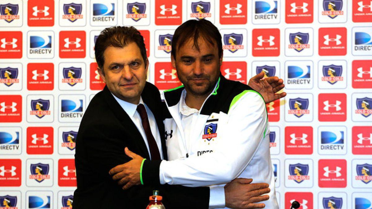 José Luis Sierra: Vengo a Colo Colo con la ilusión de ganar títulos