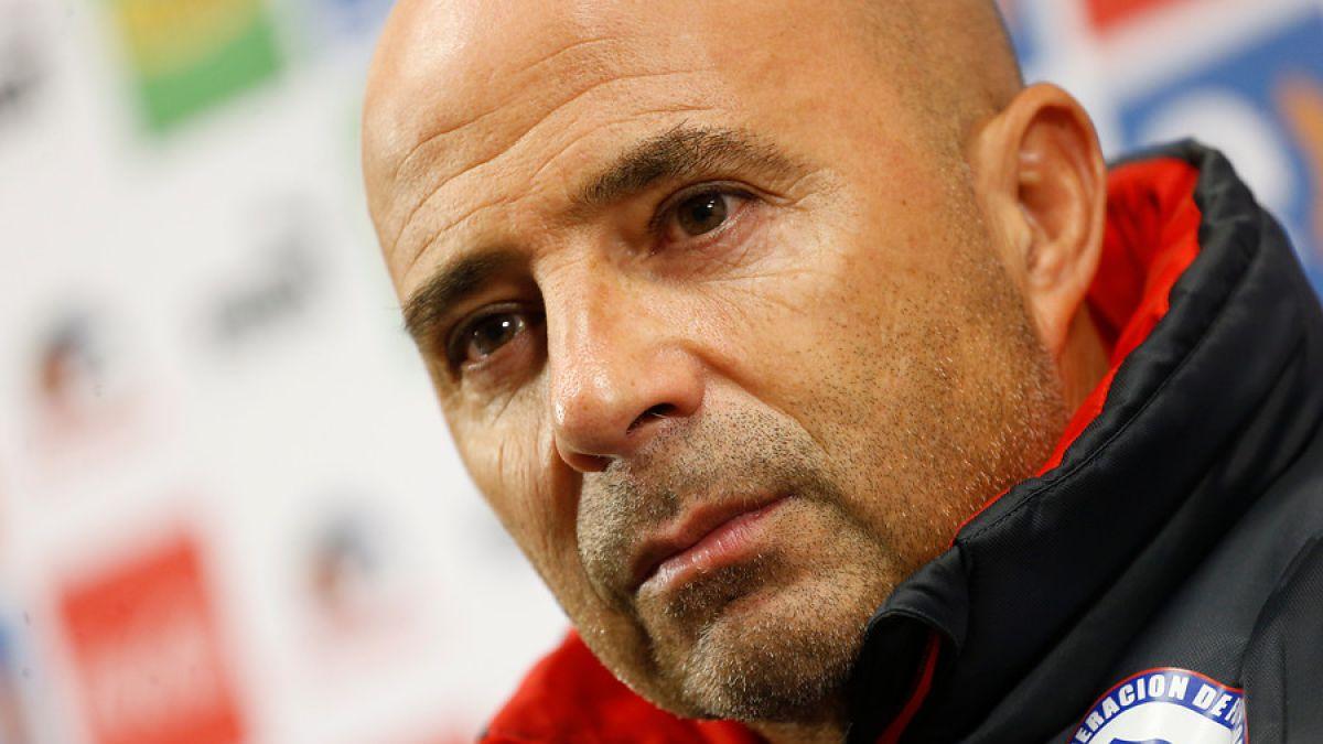 Sampaoli reduce prenómina: 4 jugadores dejan la Selección Chilena para Copa América