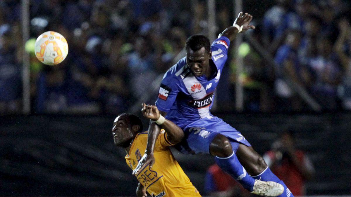 Emelec derrota 1-0 a Tigres y sueña con las semifinales de la Copa Libertadores