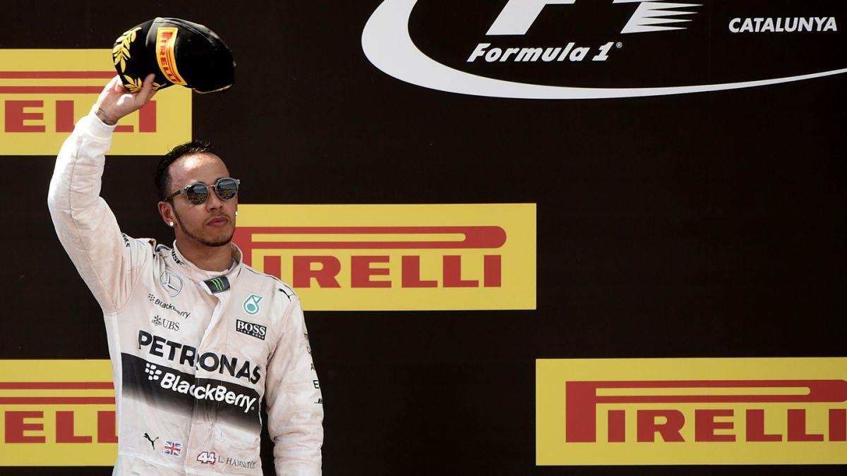 Lewis Hamilton renueva contrato con Mercedes hasta 2018