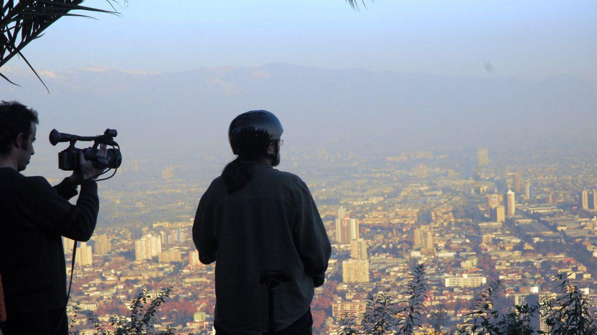 Así es el filme que busca generar conciencia sobre la contaminación del aire en Santiago