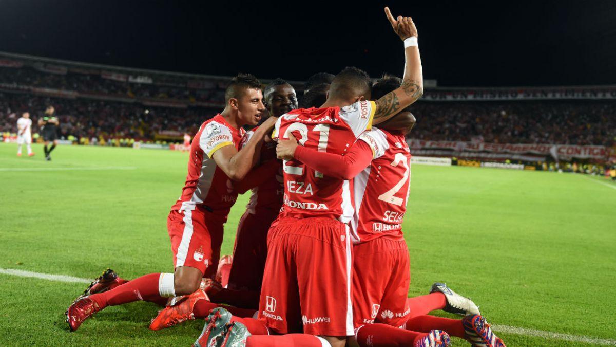 Santa Fe logra valioso triunfo 1-0 ante Internacional en cuartos de Libertadores