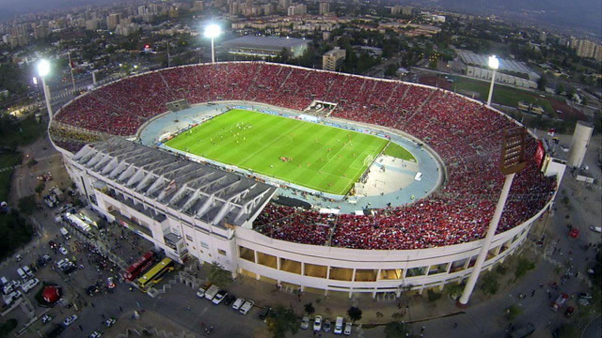 Santiago y el Estadio Nacional entrarán en la historia de la Copa América