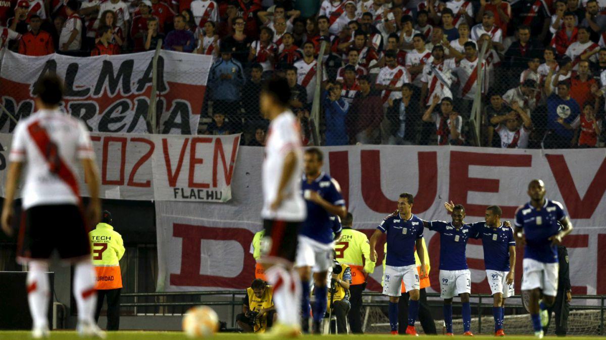 Racing y River Plate pierden en sus partidos de ida de cuartos de la Libertadores