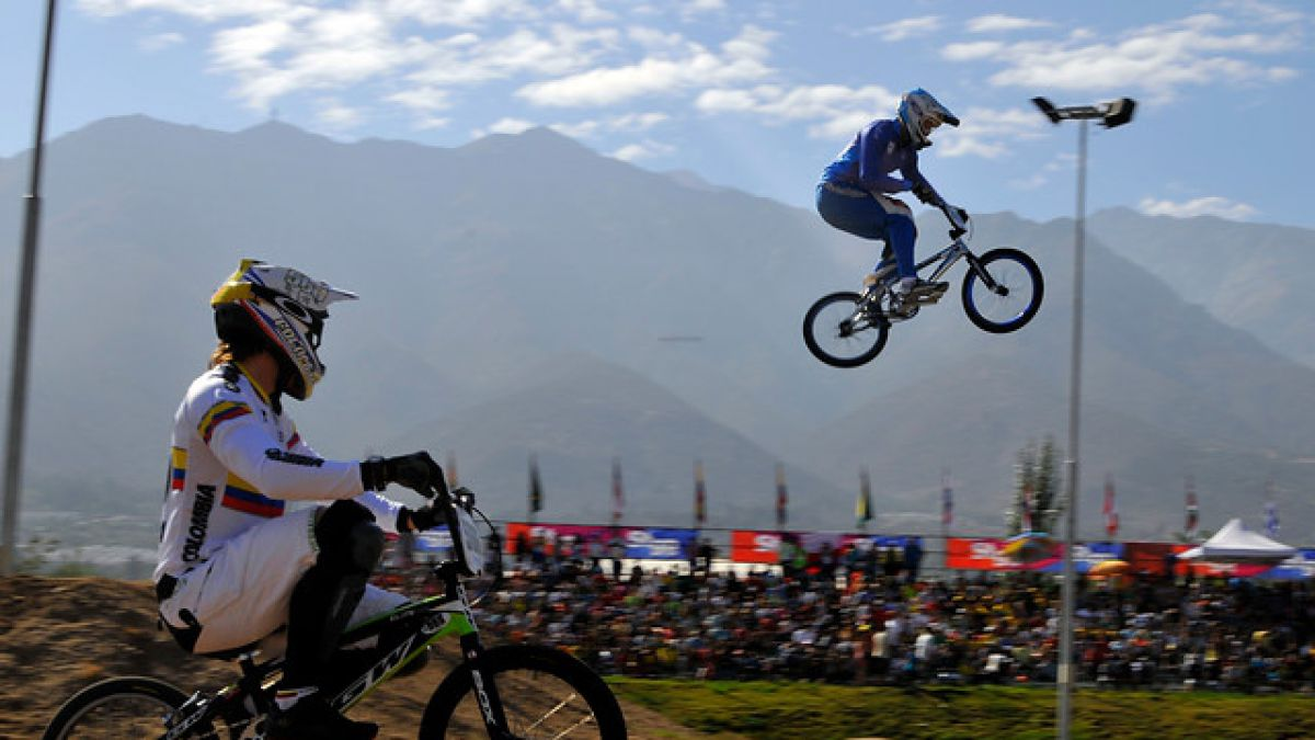 Este fin de semana se realiza el Panamericano de BMX en el Parque Peñalolen