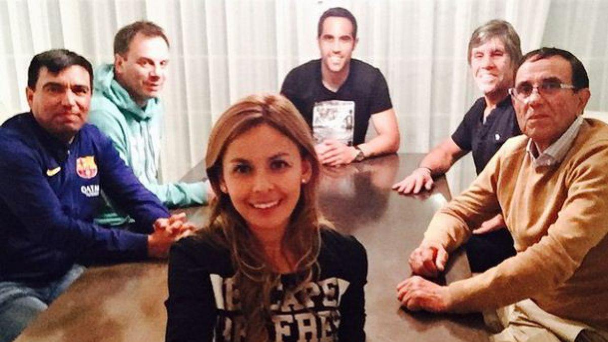 [FOTOS] Jugadores de la Selección chilena comparten sus momentos en familia