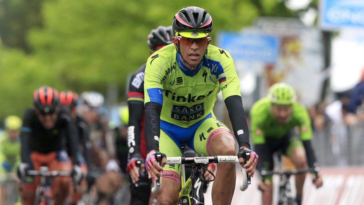 Contador se luce en la contrarreloj y recupera el liderato del Giro