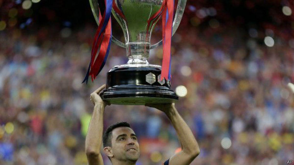 Adiós a Xavi Hernández, el jefe de la edad de oro del FC Barcelona