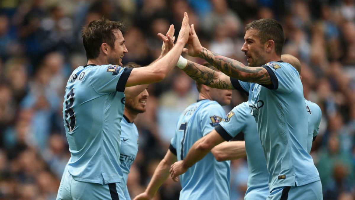 Pellegrini cierra el torneo con triunfo del Manchester City que marcó el adiós de Lampard