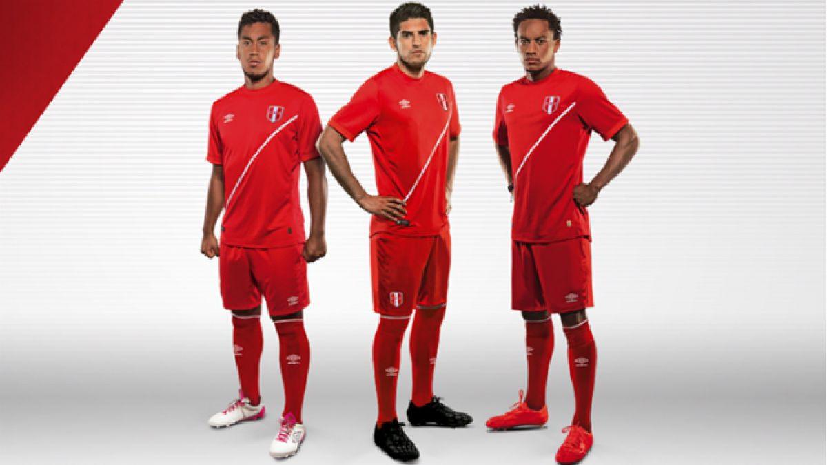 Selección de Perú tendrá nueva camiseta alternativa en Copa América