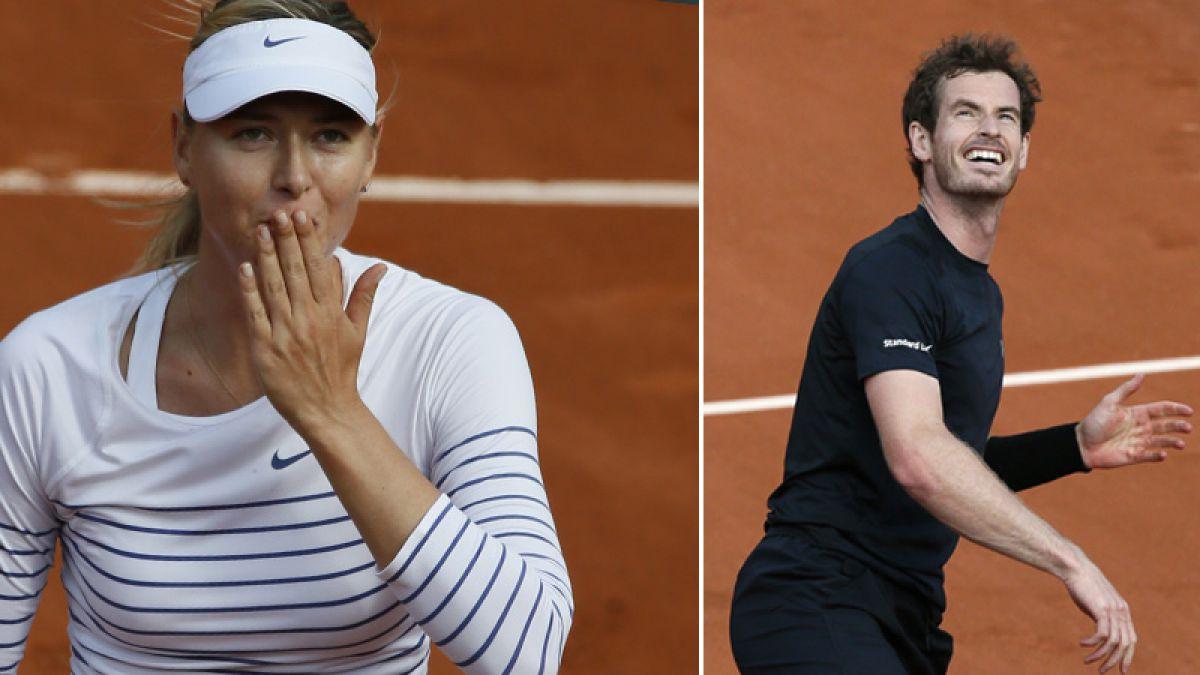Segunda jornada de Roland Garros: Sharapova y Murray no decepcionaron