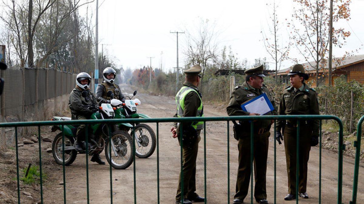 [FOTOS] Estrictas medidas de seguridad para cuidar a la Roja en Rancagua