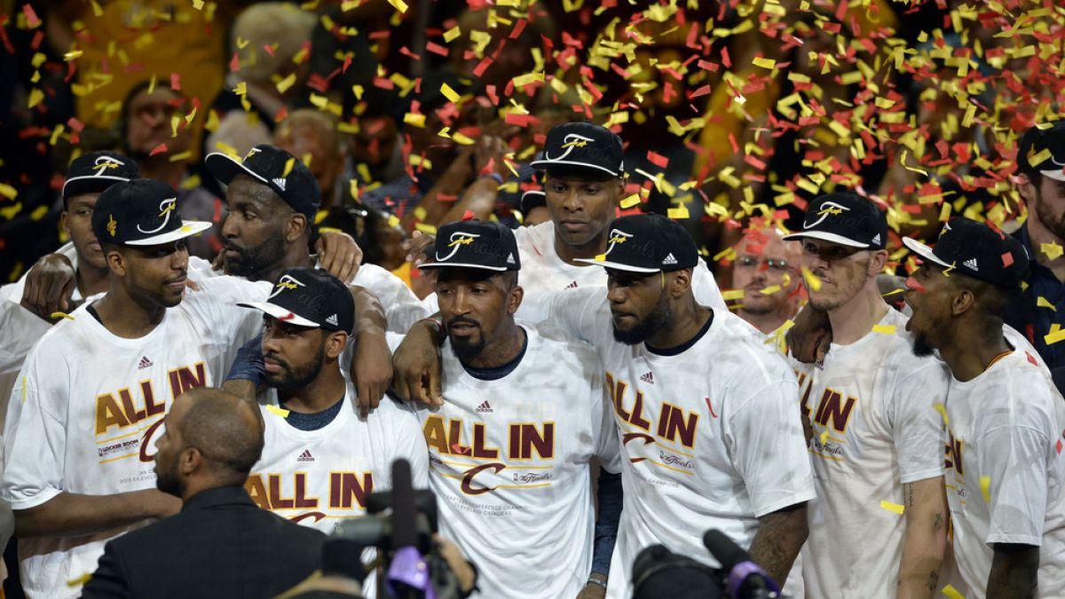 Los Cleveland Cavaliers avanzan a la gran final de la NBA