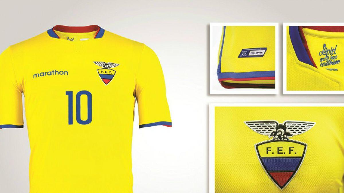 Ecuador dio a conocer su camiseta oficial para la Copa América