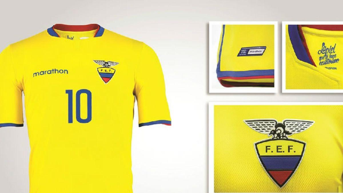 [FOTOS] La nueva camiseta que Ecuador utilizará en la Copa América 2015