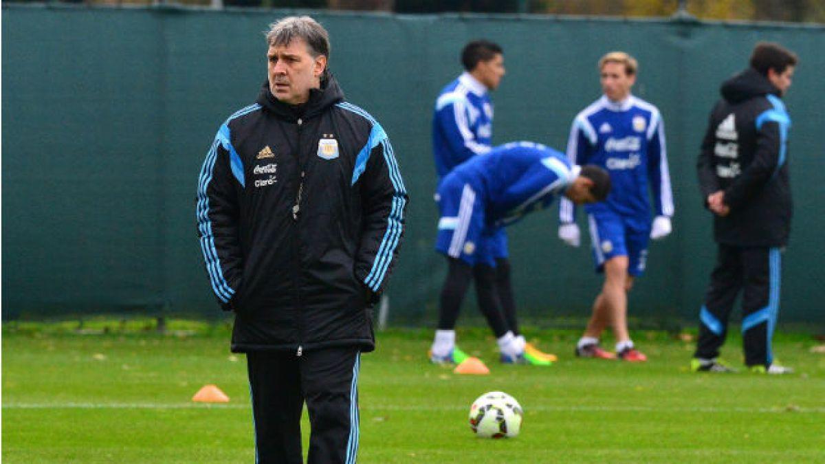 DT de Argentina aseguró que tiene prácticamente definido el once para el debut