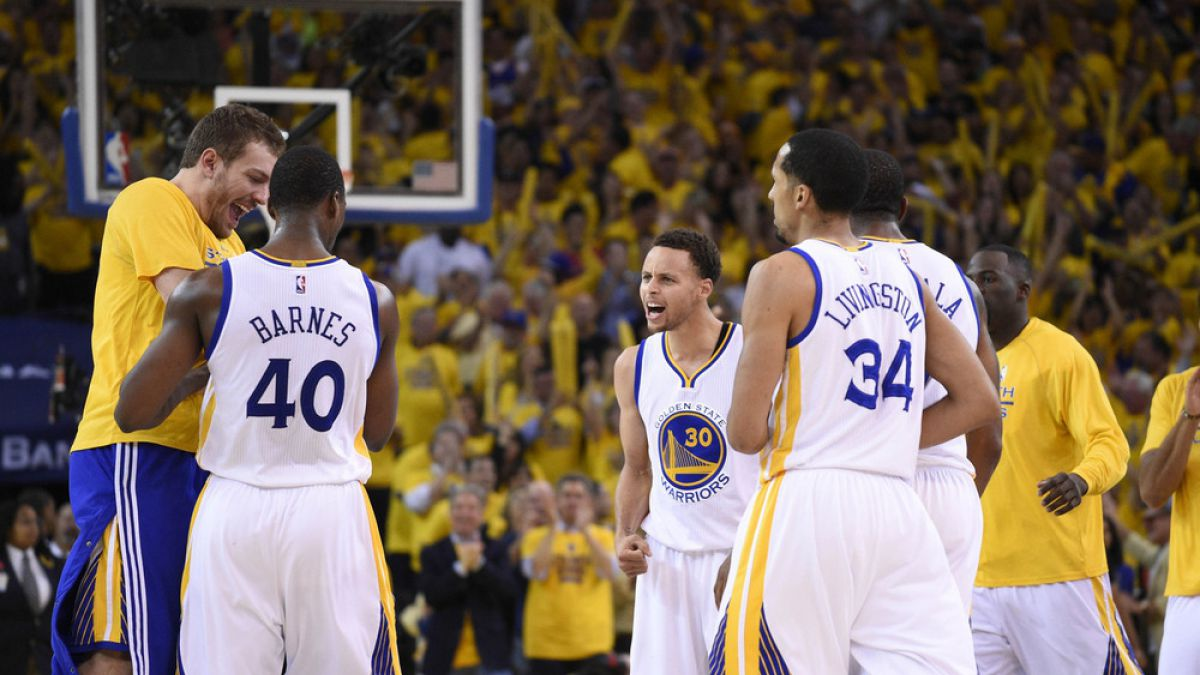 Tras 40 años, Golden State Warriors llega a la gran final de la NBA